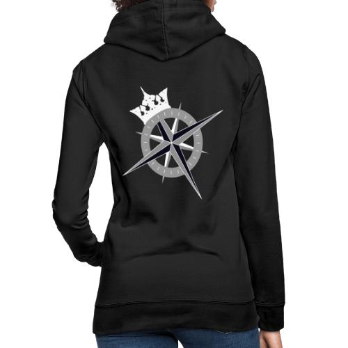 Cross on the back and Kings Fleet logo on front - Women's Hoodie