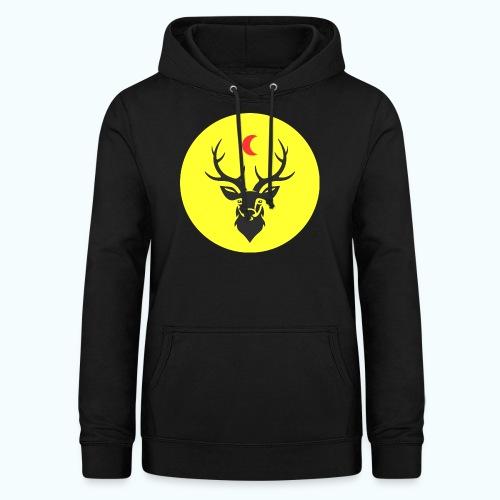 Hipster deer - Women's Hoodie