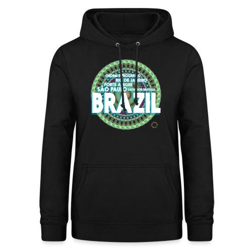 Lemon Brazil Mandala - Sweat à capuche Femme
