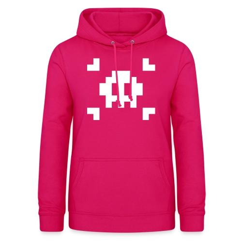 Mug Pixel Skull - Sweat à capuche Femme