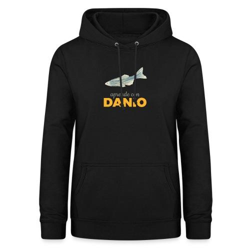 Camisetas Danio Aprende con Danio - Sudadera con capucha para mujer