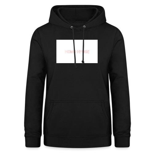 Standard homo hygge logo - Dame hoodie