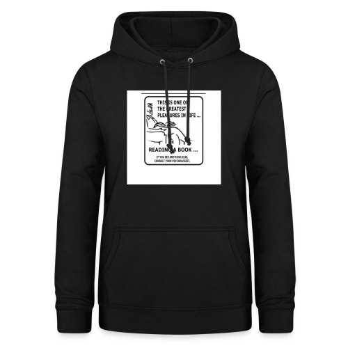 reading book - Women's Hoodie