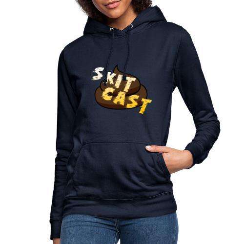 Skitcast-Logo - Hettegenser for kvinner