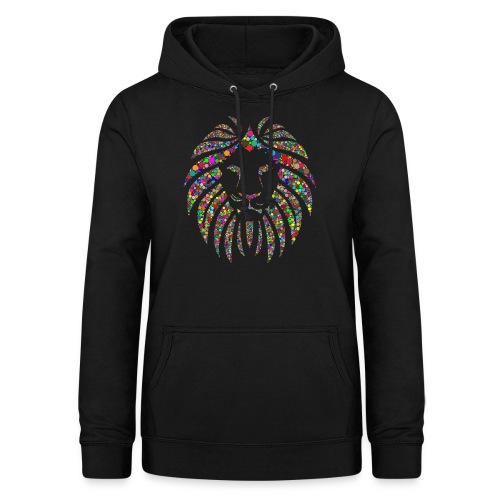 Ausdruck des Löwen - Frauen Hoodie