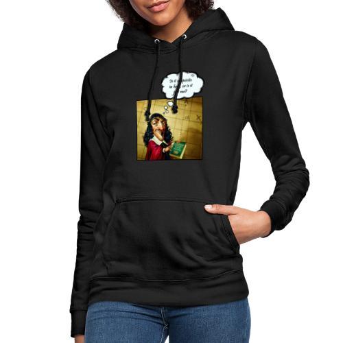 Descartes und der Solipsismus - Frauen Hoodie
