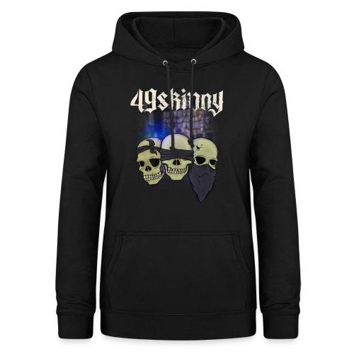 49 Skinny - Taubstumme - Frauen Hoodie