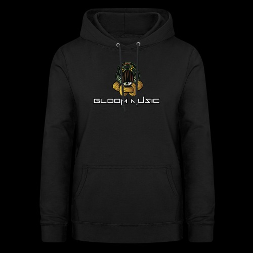 gloOm Music Front And Tree Of Life Back - Women's Hoodie