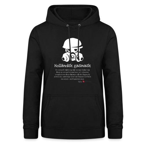 Holländsk gasmask - Luvtröja dam