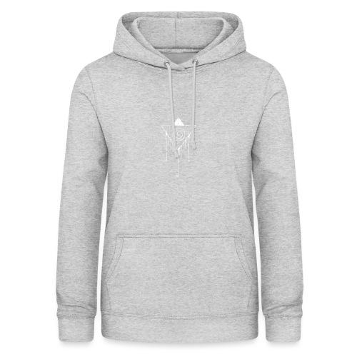 Hypno White - Vrouwen hoodie