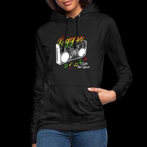 Reggae - Catch the Wave - Frauen Hoodie