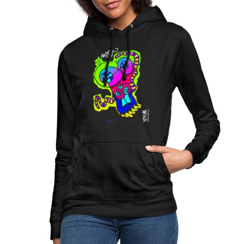 monkey - Sudadera con capucha para mujer