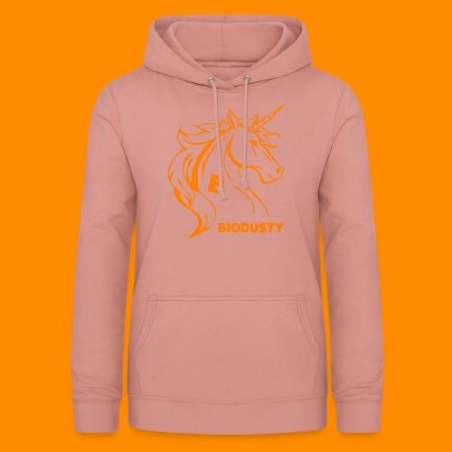 BIODUSTY UNICORN VROUWENSHIRT - Vrouwen hoodie