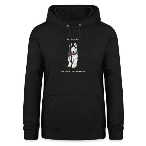 Husky Welpen mit bezaubernden Augen - Frauen Hoodie