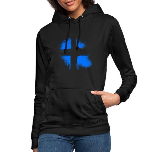 Graffiti Kreuz - Frauen Hoodie