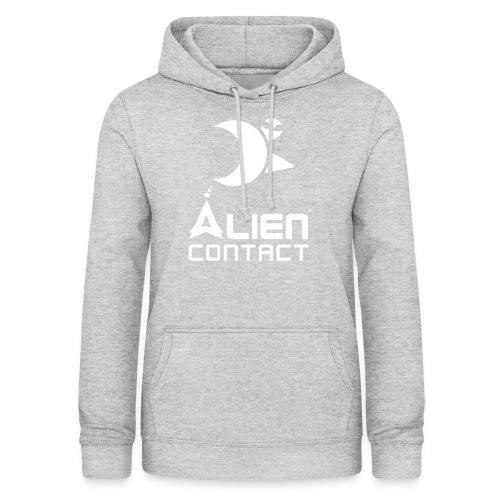 Alien Contact - Felpa con cappuccio da donna