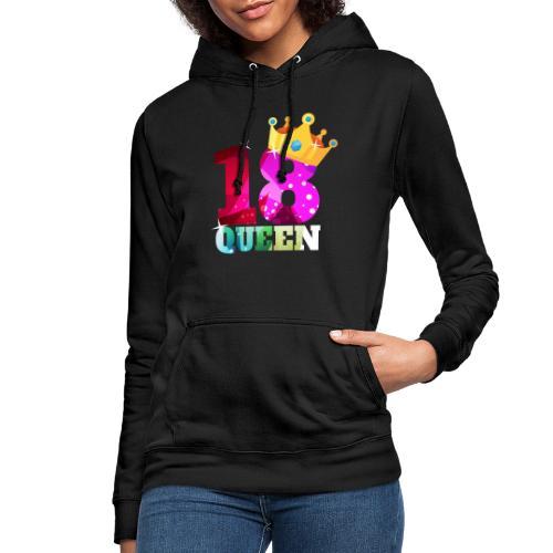 18. Geburtstag Queen - Frauen Hoodie