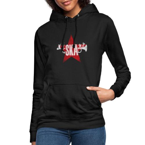 Samarreta Ska - Sudadera con capucha para mujer