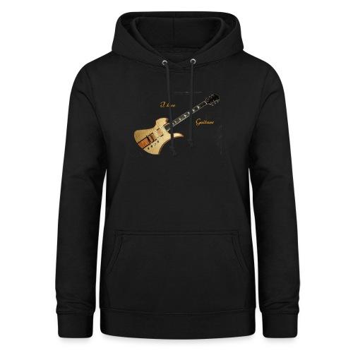 I love Guitars - Frauen Hoodie