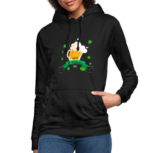 Happy St Patrick's tee shirt - Sweat à capuche Femme