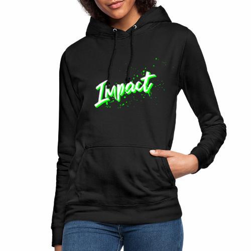 Impact Neon Logo - Women's Hoodie