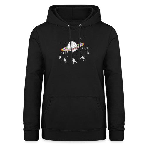 planeta - Sudadera con capucha para mujer