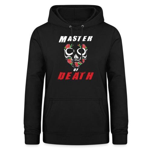 Master of death - white - Bluza damska z kapturem