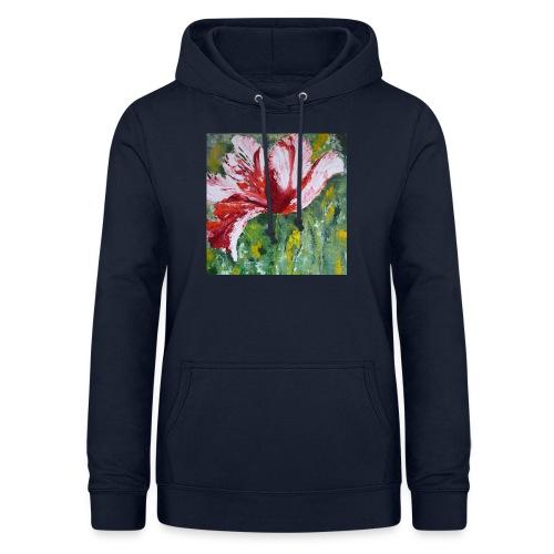 tulp met pallet mes - Vrouwen hoodie