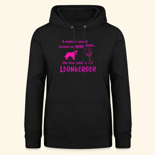 Wine&Leonberger - Luvtröja dam