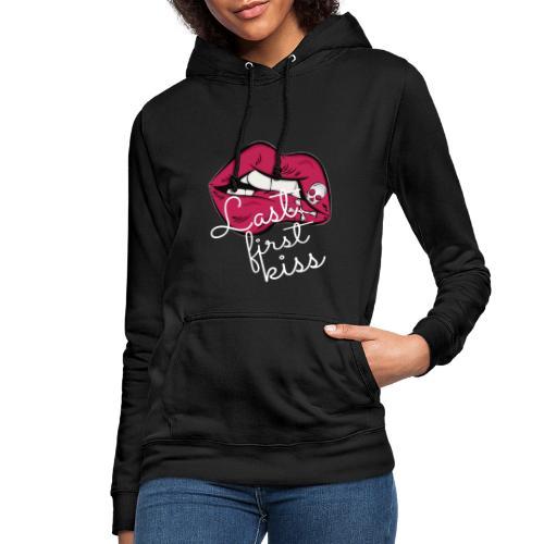 beso2 - Sudadera con capucha para mujer