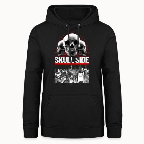 skull side city - Frauen Hoodie