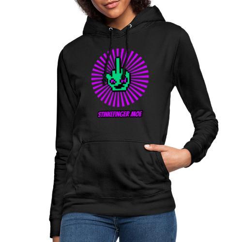 Round Logo mit Name - Frauen Hoodie
