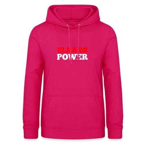 Elsass Power - Sweat à capuche Femme