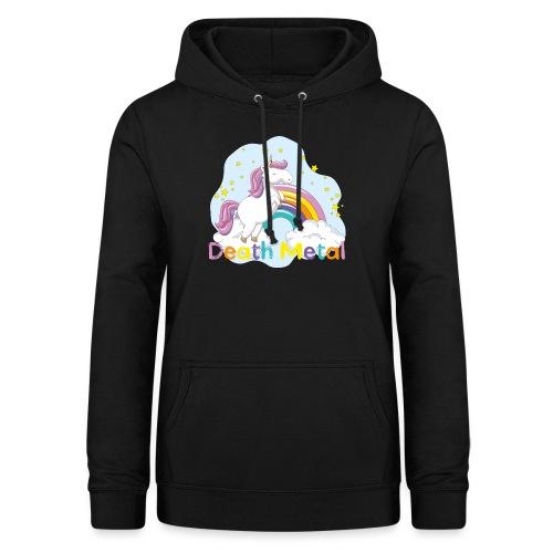 unicorn death metal - Vrouwen hoodie