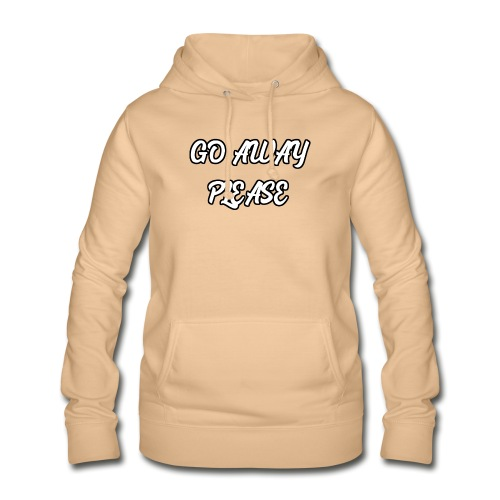 Go Away Please - Frauen Hoodie