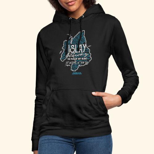 Tasting Notes Islay Whisky T Shirt Design - Frauen Hoodie