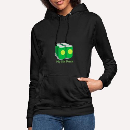 My Six Pack tshirt print - Women's Hoodie