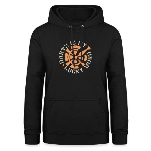 Darts Is My Lucky Word - Vrouwen hoodie