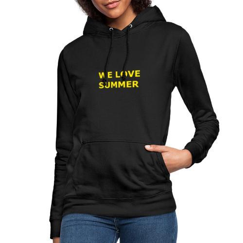 we love summer - Frauen Hoodie