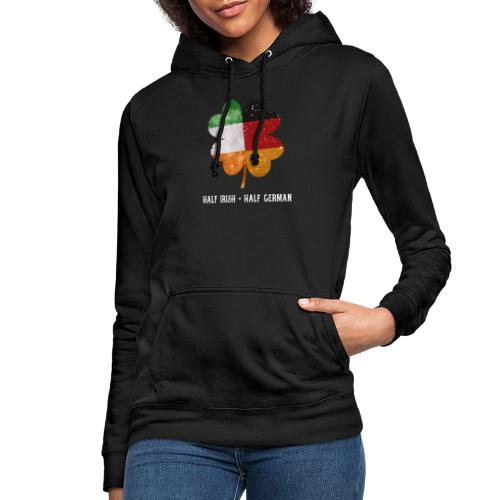 Half Irish Half German Kleeblatt - St Patricks Day - Frauen Hoodie
