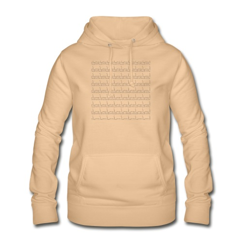 helsinki railway station pattern trasparent - Women's Hoodie