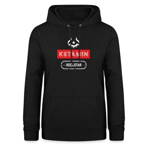 KETAMIN Rock Star - Weiß/Rot - Modern - Women's Hoodie