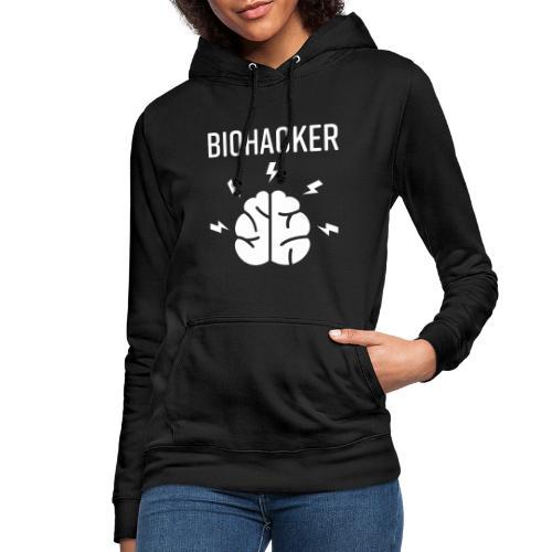 Biohacker Biohacking Geschenk Lifestyle Keto Shirt - Frauen Hoodie