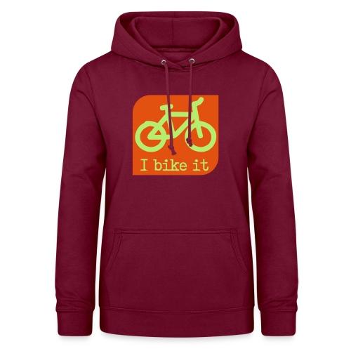 fiets logo - Vrouwen hoodie