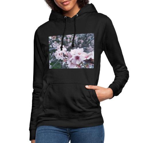 Vetement avec image fleurs de sakura - Sweat à capuche Femme