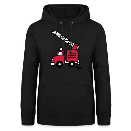Feuerwehrauto (c) - Frauen Hoodie