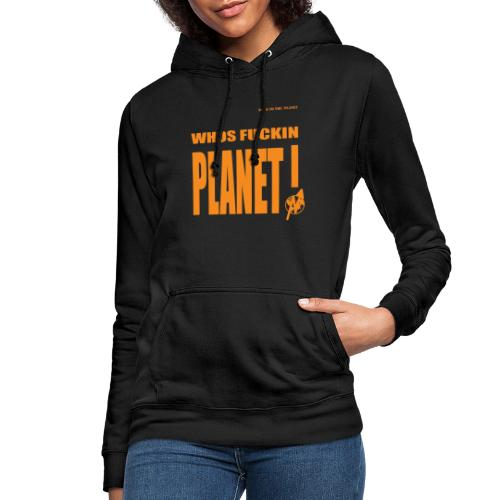Orange Original PLanet Shirt - Women's Hoodie