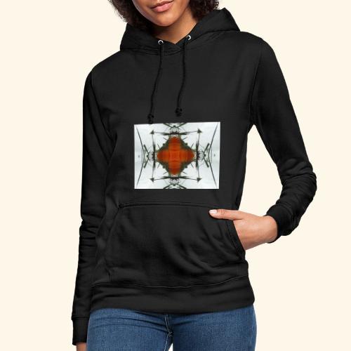 Fraktal Orange - Frauen Hoodie