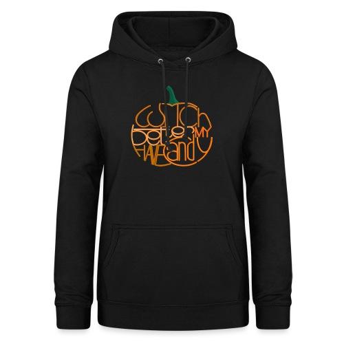 Græskar med citat - Dame hoodie