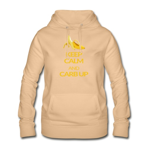 KEEP CALM and CARB UP - Frauen Hoodie